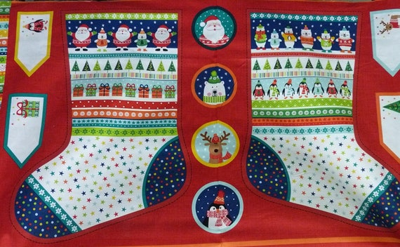 Bottes et étiquettes Noël (large stockings)