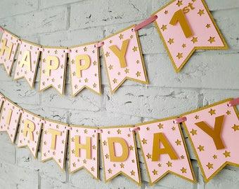 Girl 1st Birthday Decorations Etsy