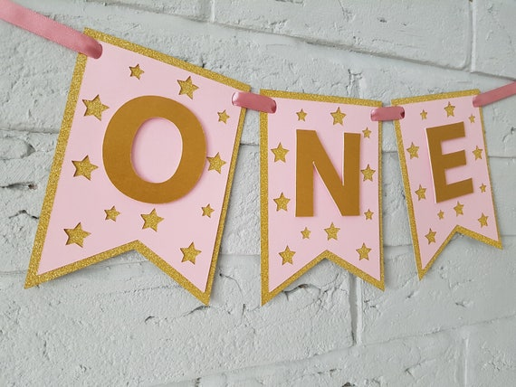One highchair banner twinkle twinkle little star first etsy