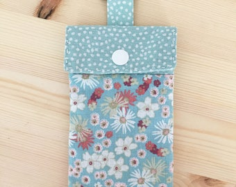 Fabric cell phone Pocket