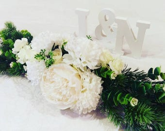 Medium Garland, wedding decoration and home decor. Table runner, centre piece. Multipurpose garland. Jordan forever garland.