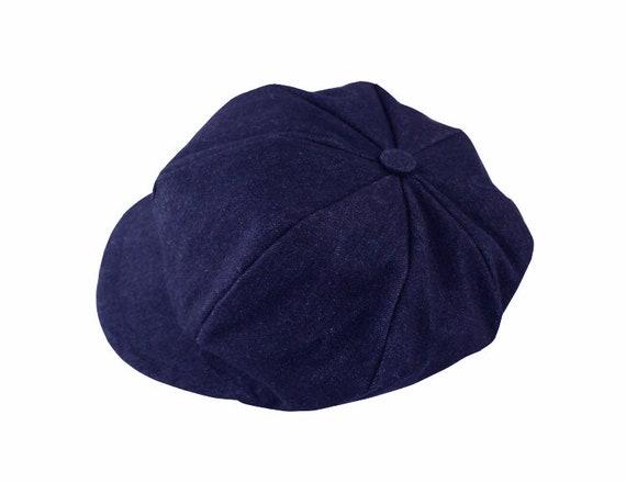 Hat Azul Newsboy Ocho Jeans Negro Sartenes o Yfb6vIgy7