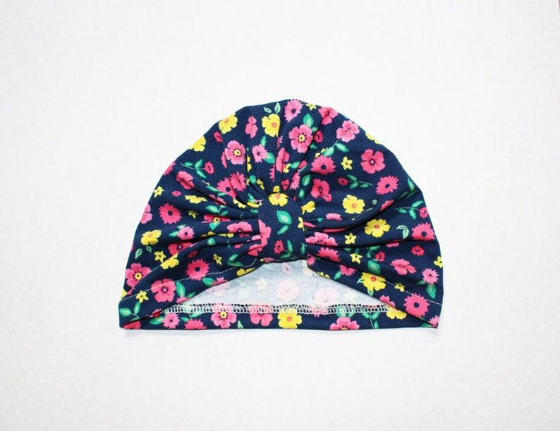 Baby Turban to choose from in Liberty Kittens Japanese Patterns and Bright Crocodiles