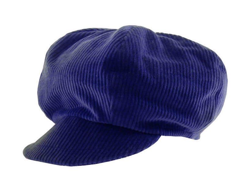 Rasta Bleu King Cap in Corduroy Dreadlocks Special!