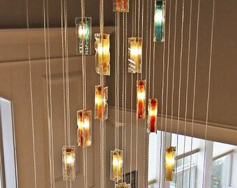 modern chandelier lighting unique