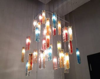 Modern Chandelier Lighting, Dining Room Lighting With Your Choice Of Colours