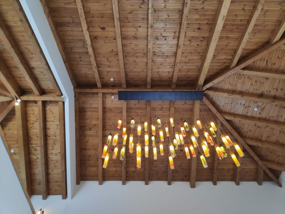 Slanted Ceiling Lights Solution For Any Kind Of Ceiling Etsy