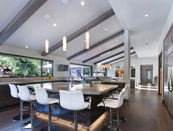 Kitchen Island Lighting Modern Pendant Light For Kitchen Etsy