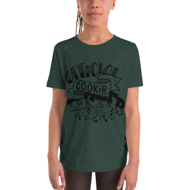 Official Cookie Tester Youth Short Sleeve T-Shirt