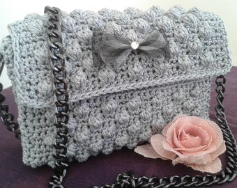 Handmade Crochet Evening bag