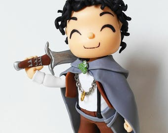 Frodo Baggins from The Lord Of The Rings handmade in cold porcelain