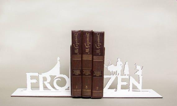 Frozen Fantasy Film Serre Livres Fait A La Main Decor De Creche Cadeau D Amant De Livre Cadeau Pour Les Hommes