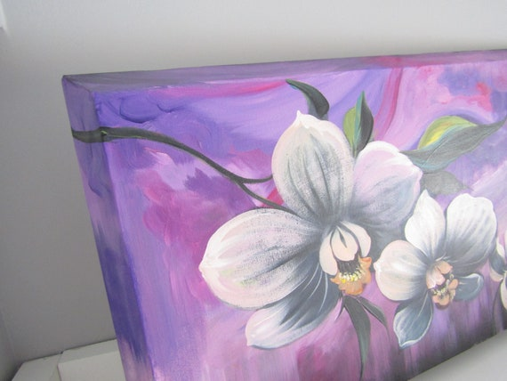 Acrylic Glass Picture Wall Picture Print 140x70 Decorative Flowers /& Plants Orchid