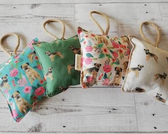 Border Terrier Lavender Pillow