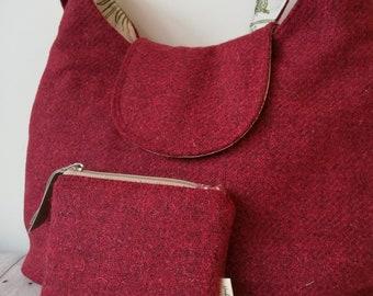 Ruby Bag and Purse Set