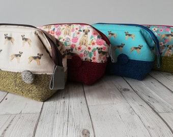 Border Terrier Wash Bag