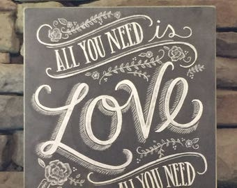 Love is all you need digital download