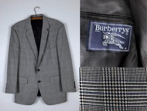 1990s Vintage Burberry Blazer - Size L