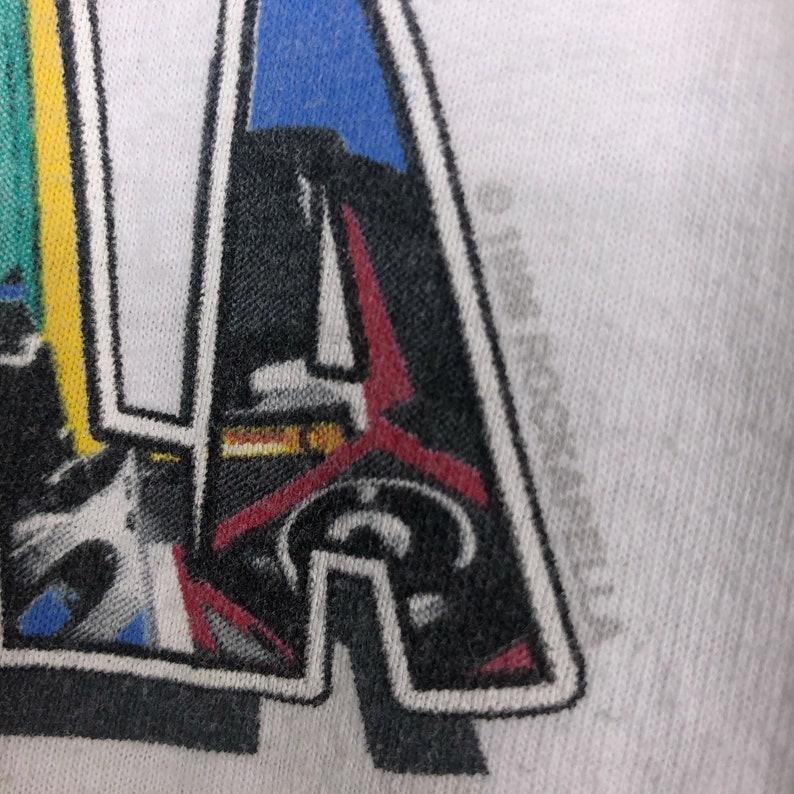 1993 Vintage White Rockapella Band T-shirt Size XL