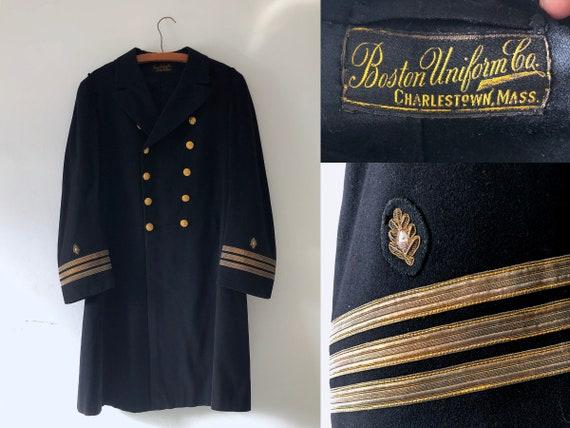 1920s Naval Lieutenant Dress Jacket - Size M