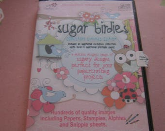 Polkadoodles, suiker Birdies, verzamelaars Limited Edition CD-ROM