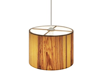Wooden veneer lamp shade   Lampshade for pendant   Floor and table lamps   Natural wooden lamp
