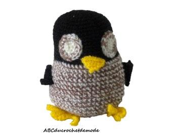 Cadroe le/tawny/owl handmade crochet, amigurumi, toy or decorative object