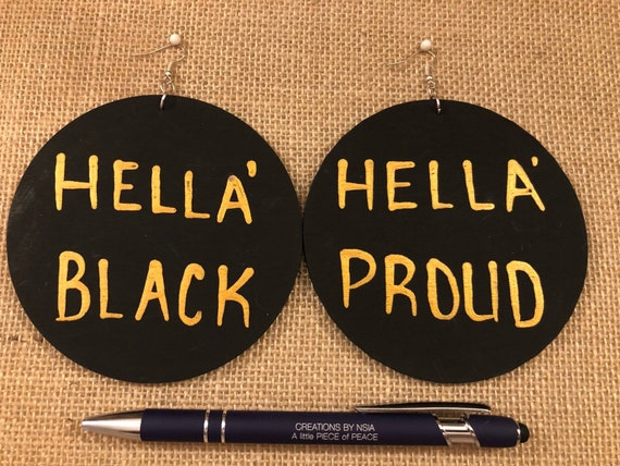 Hella Black- Hella Proud