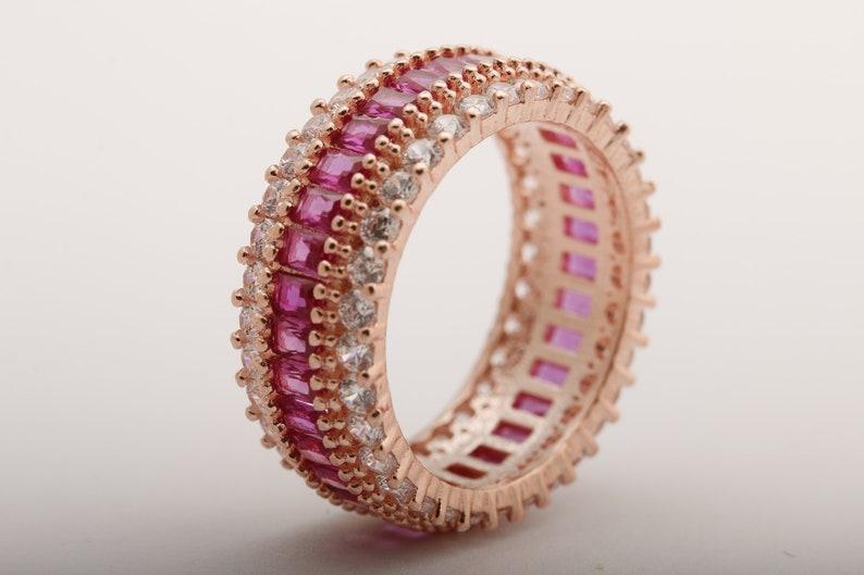 EMERALD Turkish Handmade Jewelry 925 Sterling Silver Woman Ladies Bracelets 5