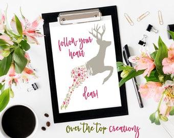 Watercolor Dear- Digital Download