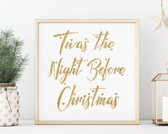 Twas The Night Before XMas/Digital Download/Beautiful!