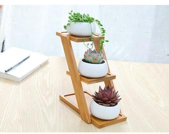 Simple Planter Set, Succulent Planter, Terrarium Miniature,Fairy Garden Decor,DIY Terrarium Succulent Accessories,Home Decor, Garden Tools