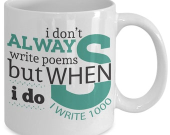 Poetry puns funny | Etsy