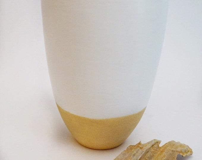 Ceramic Vase, flower vase, vase, white vase, pottery, home decor, boho vase