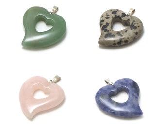 1 pendant natural stone