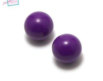 """1 Pearl bola musical """"classic"""" 16 mm copper, purple"""
