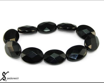 Elastic Bracelet with Black onyx