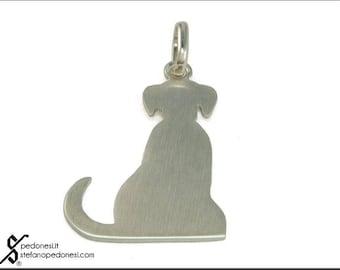 Silver Dog Pendant