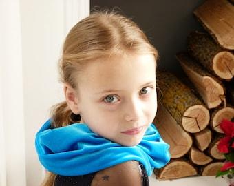 Ligh bleu foulard filles foulard velours infini  foulard écharpe foulards enfants foulard pilou écharpe cadeau lui   écharpe fille  filles 412336c3981