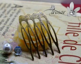 Bronze barretes accessories bronze hair comb