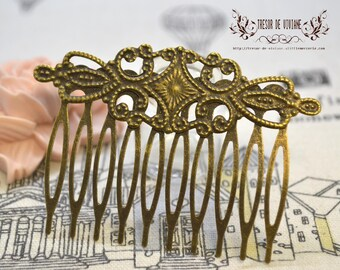 Bronze, headband, flower, barretes, hair accessories, bronze
