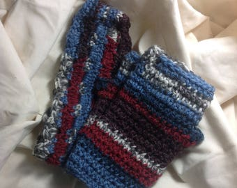 Headband & Fingerless Mitts