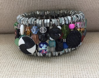 Safety Pin Bracelet (BR-SP4)