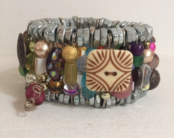 Safety Pin Bracelet (BR-SP3)