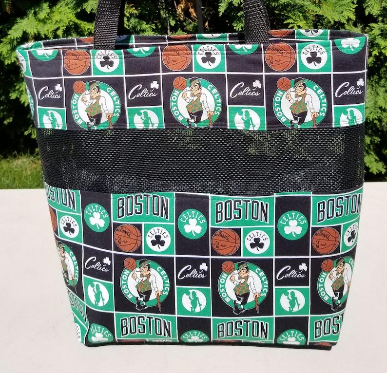 Boston Celtics Vinyl Mesh Bags