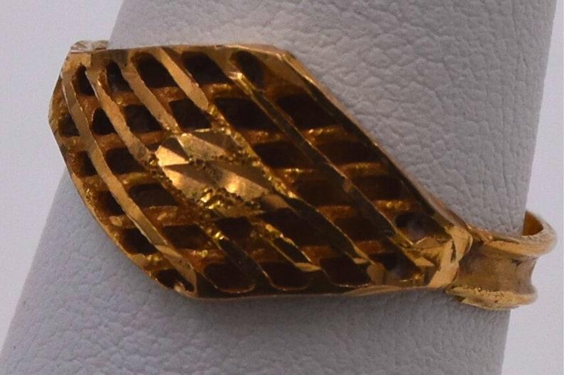 21k Gold Ring 21k Ring Gift For Girl Middle Eastern Gold Gift For Her Woman/'s 21k Gold Ring 21k Ring Everyday Ring