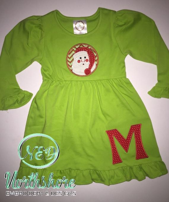 Girl/'s FrankensteinDoll Applique Dress
