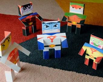 BOTP Bots (Set of 5)
