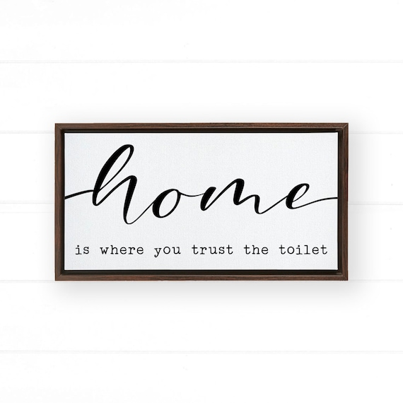 Funny Bathroom Signs Bathroom Signs Bathroom Decor Bathroom Etsy