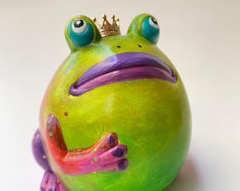 "NEW 4"" Mango the Frog Prince"